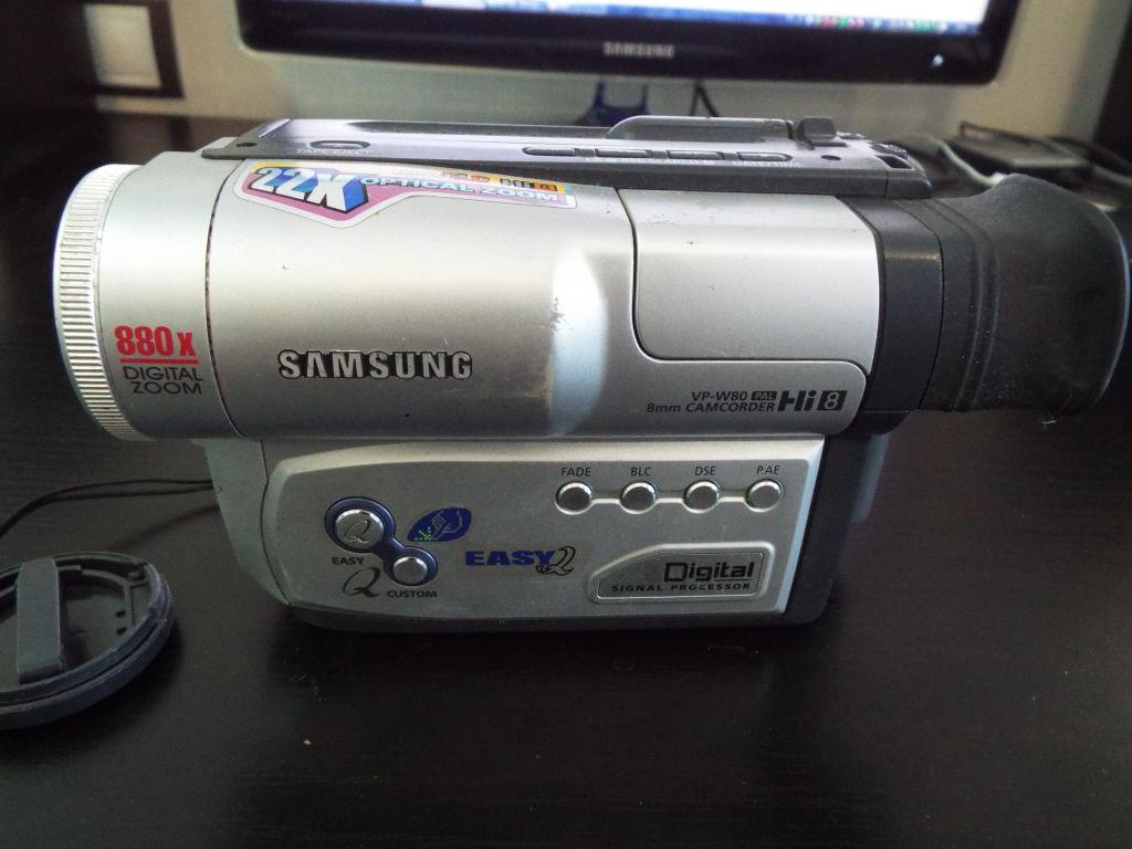 Samsung Vp-W80 Инструкция